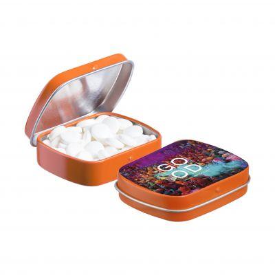 Mini Klappdeckeldose orange(PE0040600)