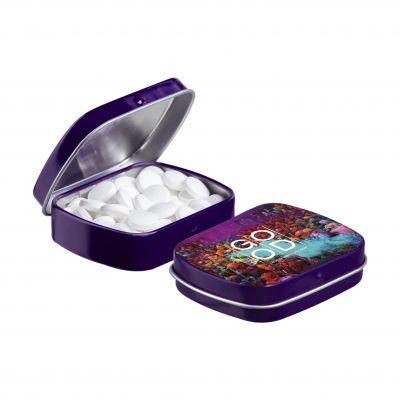 Mini Klappdeckeldose lila(PE0040800)