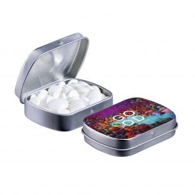 Mini Klappdeckeldose silber(PE0040200)