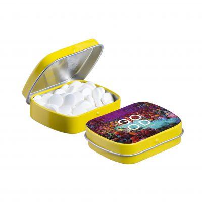 Mini Klappdeckeldose gelb(PE0038200)