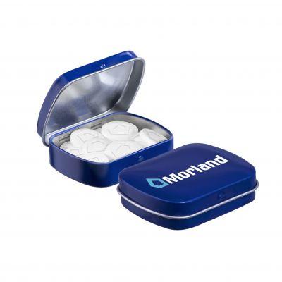 Mini Klappdeckeldose Mentos blau(PE0049400)