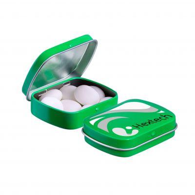 Mini Klappdeckeldose Mentos grün(PE0050800)