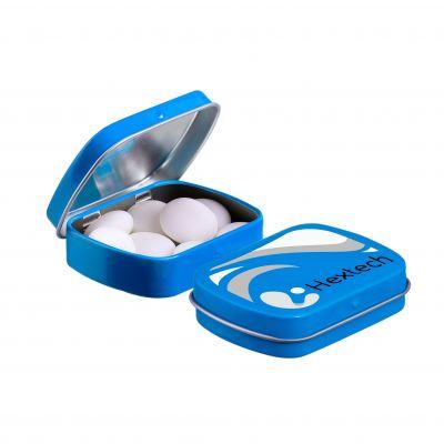Mini Klappdeckeldose Mentos blau(PE0051200)