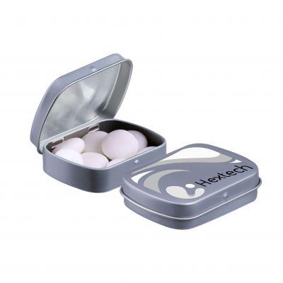 Mini Klappdeckeldose Mentos grau(PE0051000)