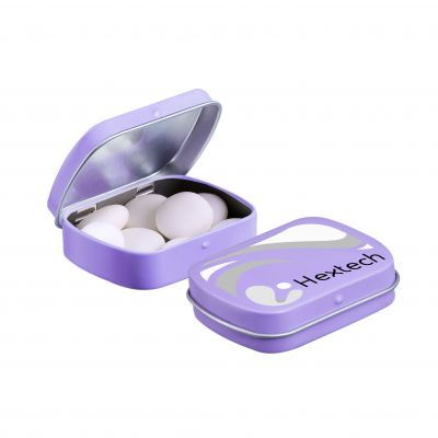 Mini Klappdeckeldose Mentos lila(PE0051600)