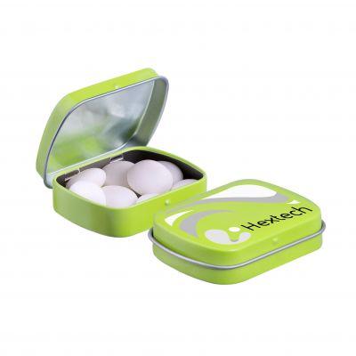 Mini Klappdeckeldose Mentos hellgrün(PE0051800)