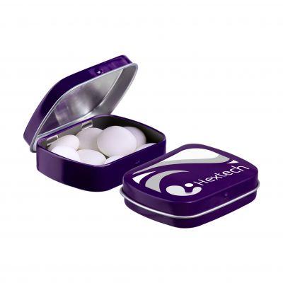 Mini Klappdeckeldose Mentos lila(PE0052600)