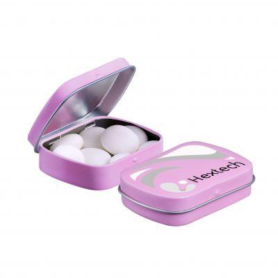 Mini Klappdeckeldose Mentos rosa(PE0053000)