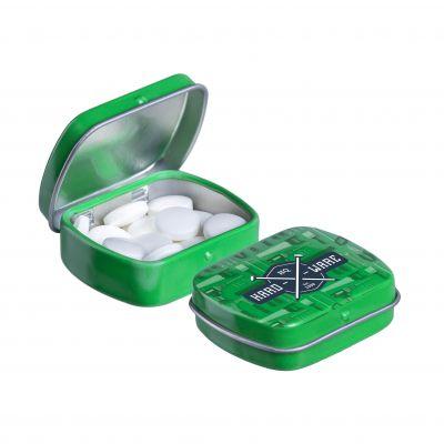 Micro Klappdeckeldose grün(PE0055500)