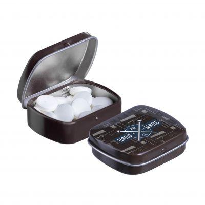 Micro Klappdeckeldose braun(PE0054200)