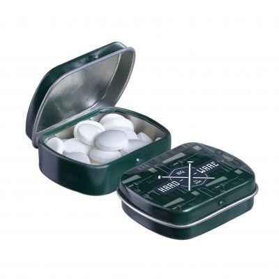 Micro Klappdeckeldose dunkelgrün(PE0054400)