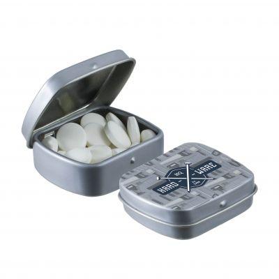Micro Klappdeckeldose grau(PE0055700)