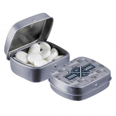 Micro Klappdeckeldose silber(PE0057600)