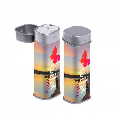 Hohe Dose Rundumdruck silber incl. vollfarbigem Druck(PE0059800)