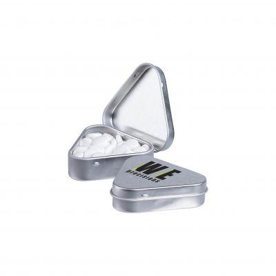 Dreieckige Dose silber(PE0062500)