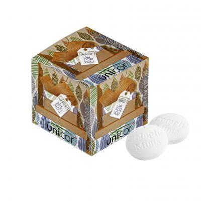 KLEINE BOX MIT COMPLI'MINTS weiß incl. vollfarbigem Druck(PE0067900)