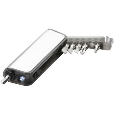 Reno Mini Werkzeugbox mit 7 Funktionen und LED-Taschenlampe PF1143300