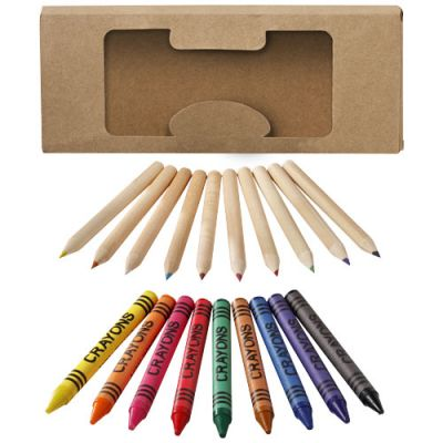 Lucky 19-teiliges buntes Farb- und Bleistiftset PF1104000