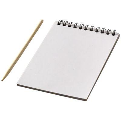 Waynon bunter Kratzblock mit Stift PF1192300