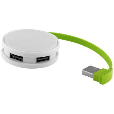 Round USB-Hub mit 4 Anschlüssen PF1147702