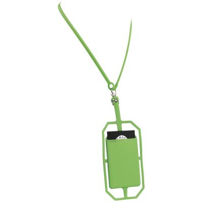 Silikon RFID Kartenhalter mit Lanyard PF1156602