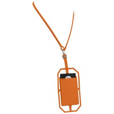 Silikon RFID Kartenhalter mit Lanyard PF1156603