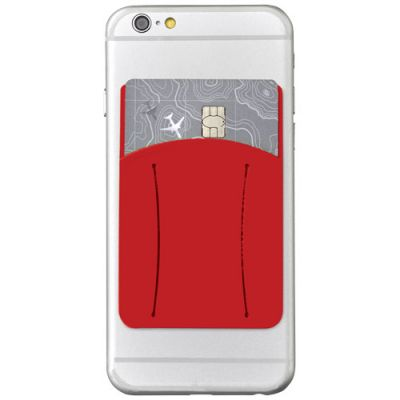 Storee Silikon Smartphonehülle mit Finger Slot PF1165804