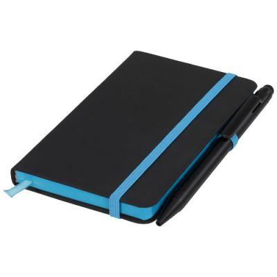 Noir Edge A6 Notizbuch mit farbigem Rand PF1122301