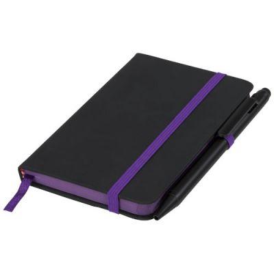 Noir Edge A6 Notizbuch mit farbigem Rand PF1122304