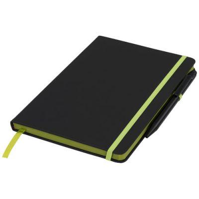 Noir Edge A5 Notizbuch mit farbigem Rand PF1122202