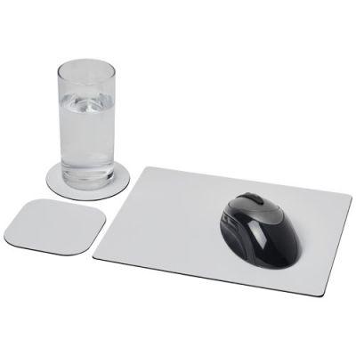 Brite-Mat® Mauspad- und Untersetzer-Set 1 PF1027500