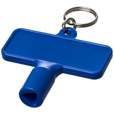 Maximilian rechteckiger Universalschlüssel mit Schlüsselanhänger PF1108800