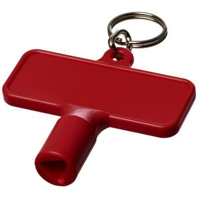 Maximilian rechteckiger Universalschlüssel mit Schlüsselanhänger PF1108803