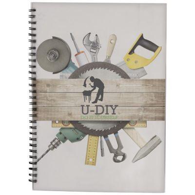 Desk-Mate® A4 Notizbuch mit Kunststoff Cover und Spiralbindung PF1050802