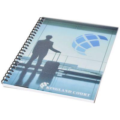 Desk-Mate® A5 Notizbuch mit Kunststoff Cover und Spiralbindung PF1051402