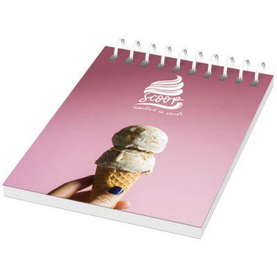 Desk-Mate® A7 Notizbuch mit Kunststoff Cover und Spiralbindung PF1052200