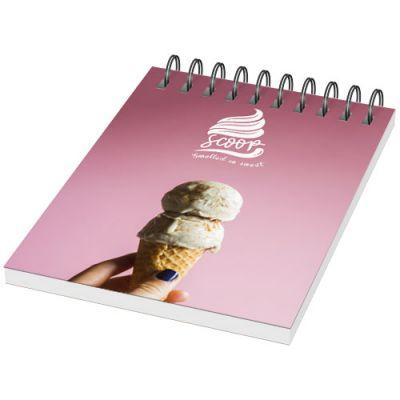 Desk-Mate® A7 Notizbuch mit Kunststoff Cover und Spiralbindung PF1052202