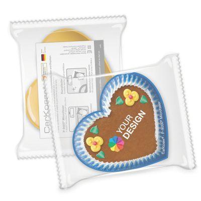 CarKoser®Classic Scheibenschwamm Herzform, Verpackung (PC0001200)