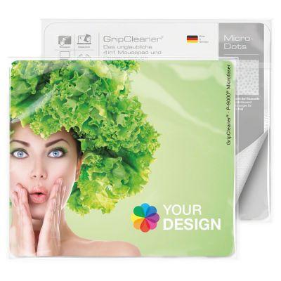 GripCleaner® 4in1 Mousepad 23x20cm bunt (PC0002500)