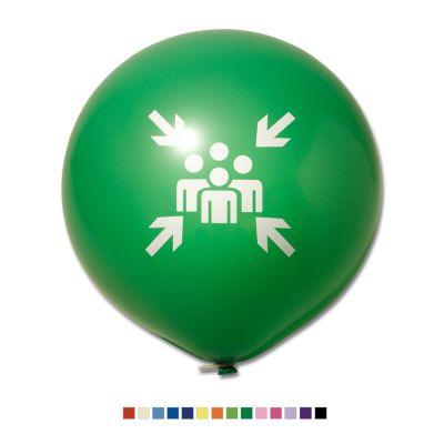 Riesenluftballon Ø 80 cm inkl. Druck 1/0 W5005
