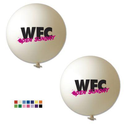 Riesenluftballon Ø 80 cm inkl. Druck 2/2 W5008 bedrucken