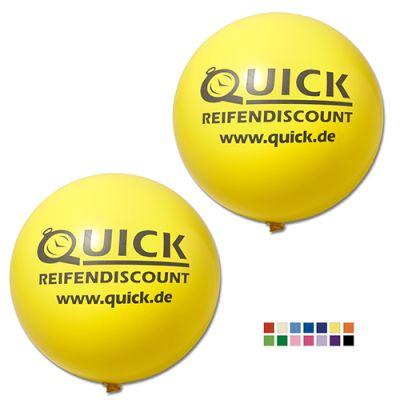 Riesenluftballon Ø 150 cm inkl. Druck 1/1 W5014 bedrucken