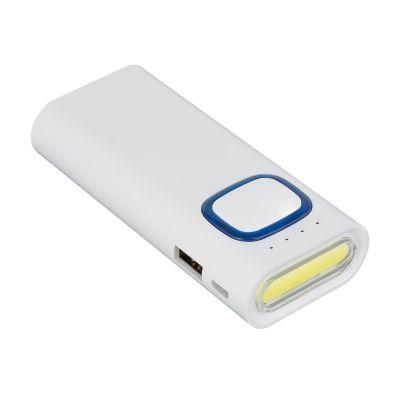 Powerbank mit COB LED Taschenlampe REFLECTS