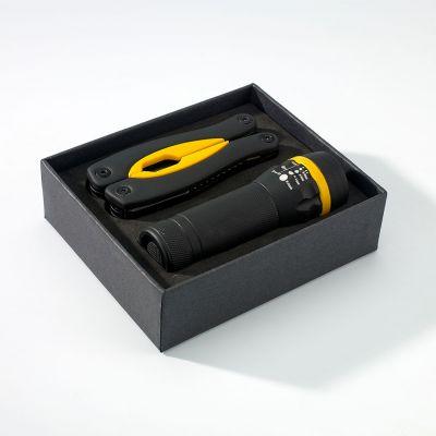 Gummiertes Set: Grosses Multitool Und Taschenlampe Rubby - RG0000508