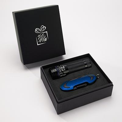 Set Colorado I: Taschenlampe Und Taschenmesser - RG0003200