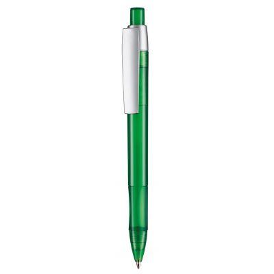 Kugelschreiber CETUS TRANSPARENT grün