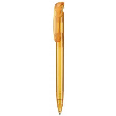 Kugelschreiber CLEAR TRANSPARENT gelb