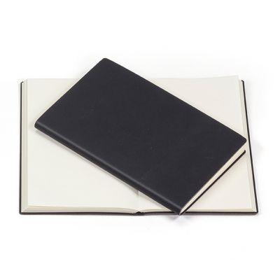 Notizblock Notizblock schwarz neutral schwarz