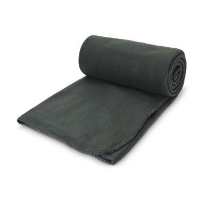 Fleecedecke Basic,120 x 150 cm, 180 g/m² dunkelgrau - RO0047900