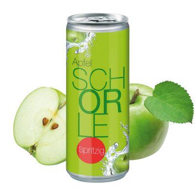"""250 ml Apfelschorle """"Spritzig"""" - Body Label (DPG) SA0000700 bedrucken"""